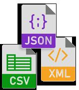 CSV file
